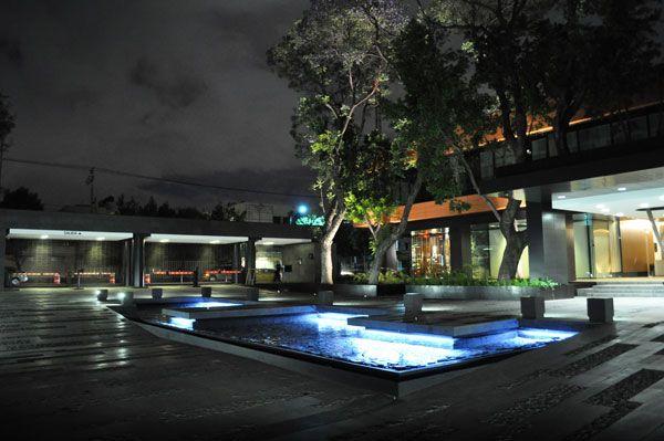 KIẾN TRÚC CẢNH QUAN VƯỜN VĂN PHÒNG Ở MEXICO