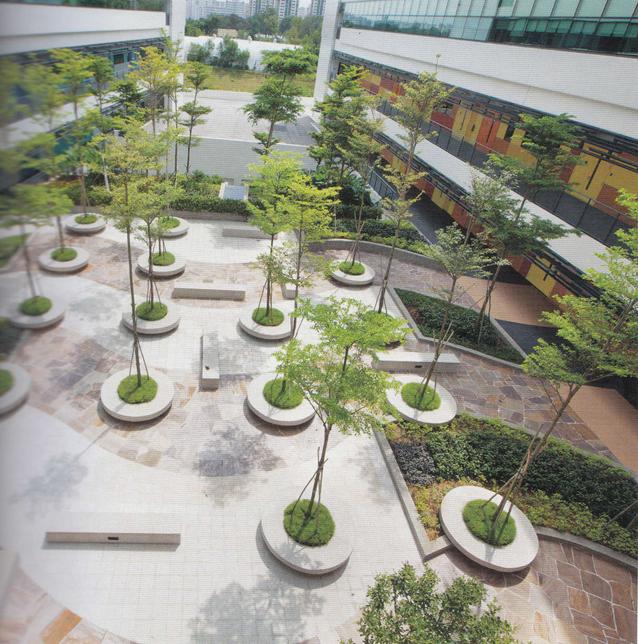 Cảnh quan trường Đại học ITE West Singapore- một thiết kế giàu chất thơ