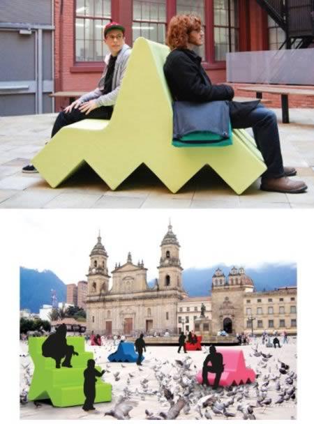 12 chiếc ghế băng vừa lãng mạn vừa kỳ lạ